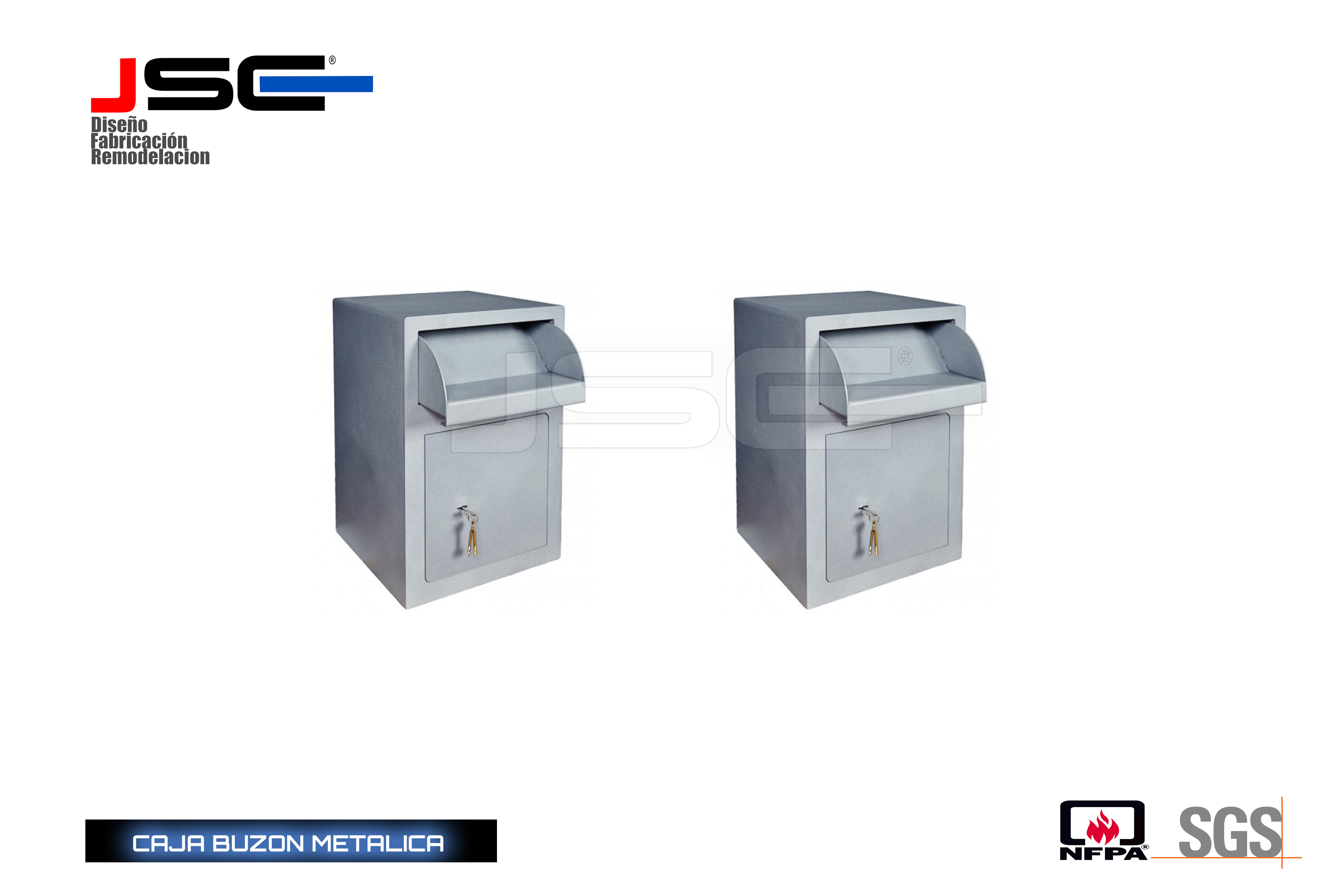 Caja buzon JSCB009