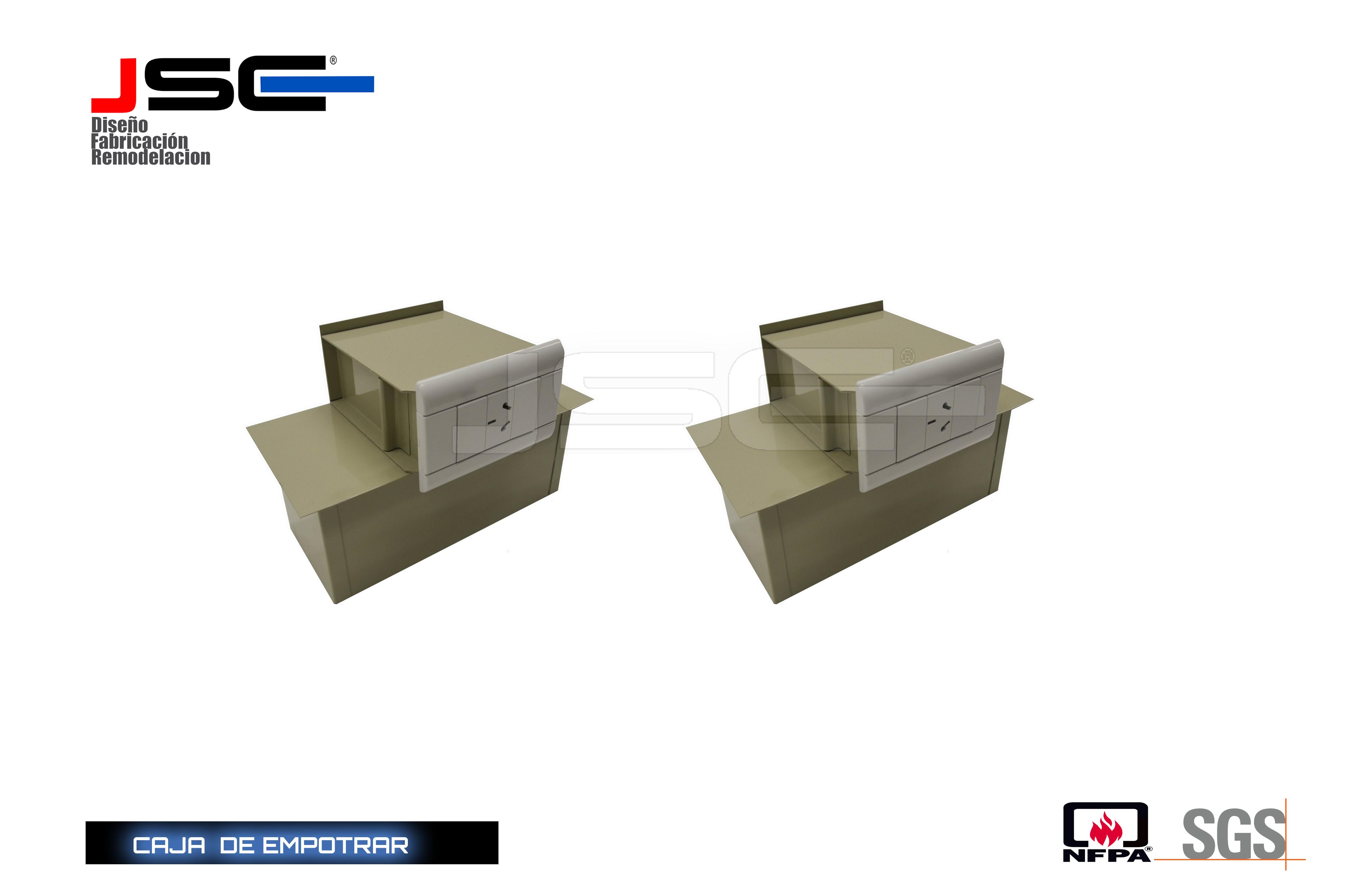 Caja de empotrar JSCE009