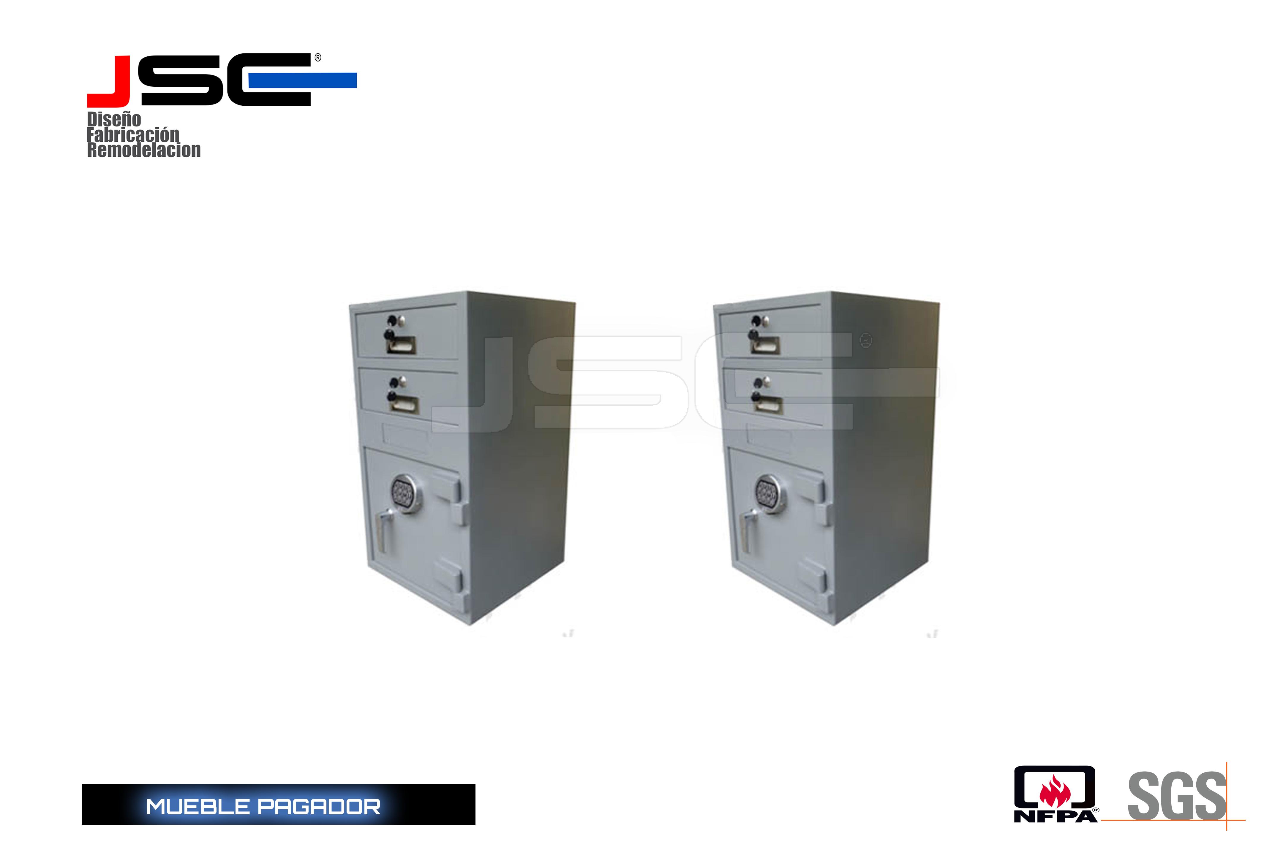 Mueble pagador JSC001