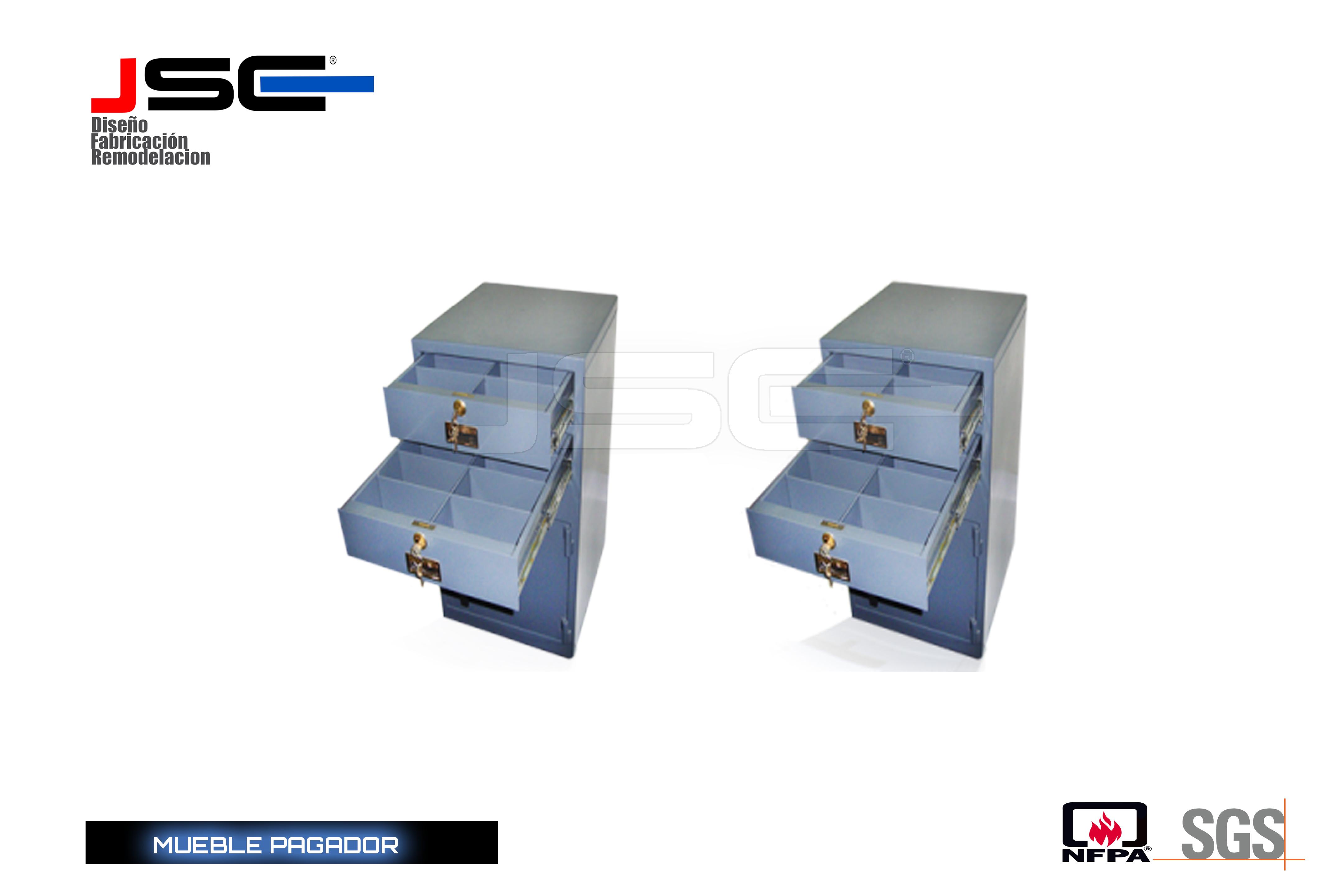 Mueble pagador JSC004