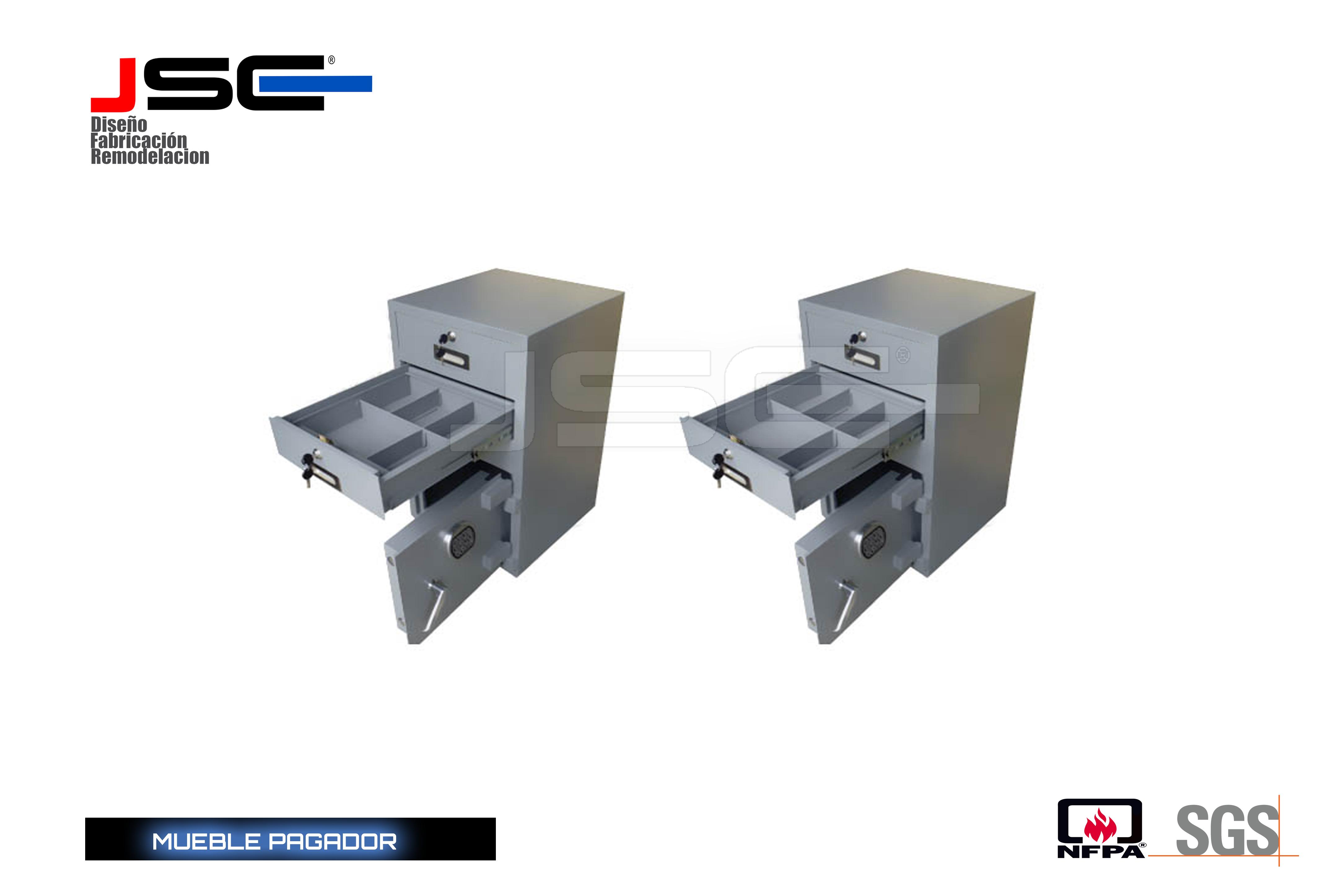 Mueble pagador JSC006