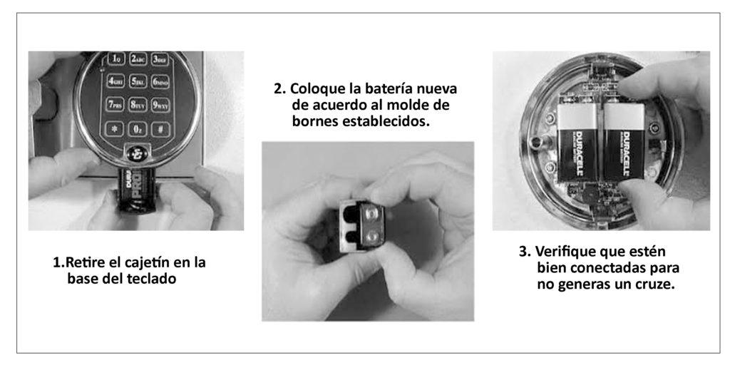 Condición de batería baja en cajas fuertes de Lima y provincias