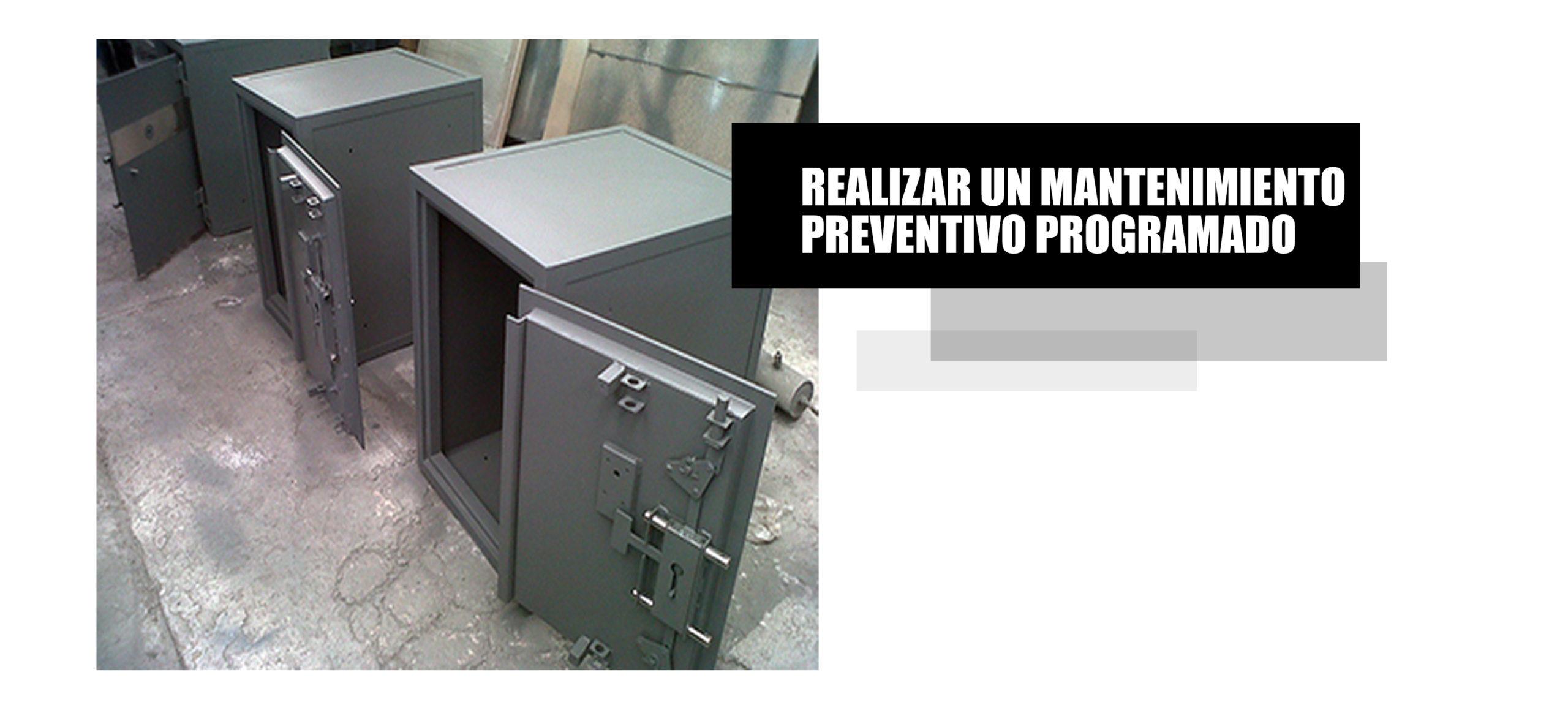Mantenimiento preventivo para cajas de seguridad de todo el Perú