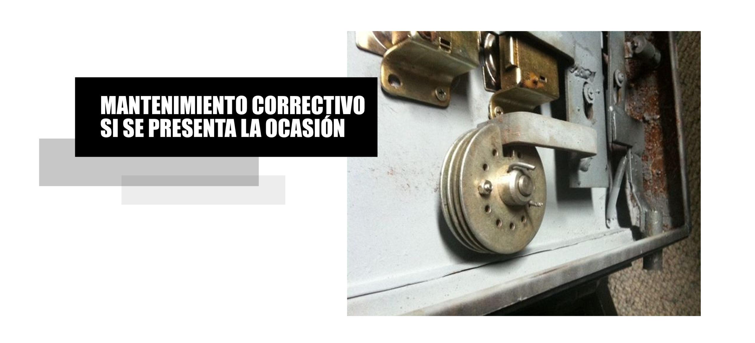 Mantenimiento correctivo para cajas fuerte de todo Lima