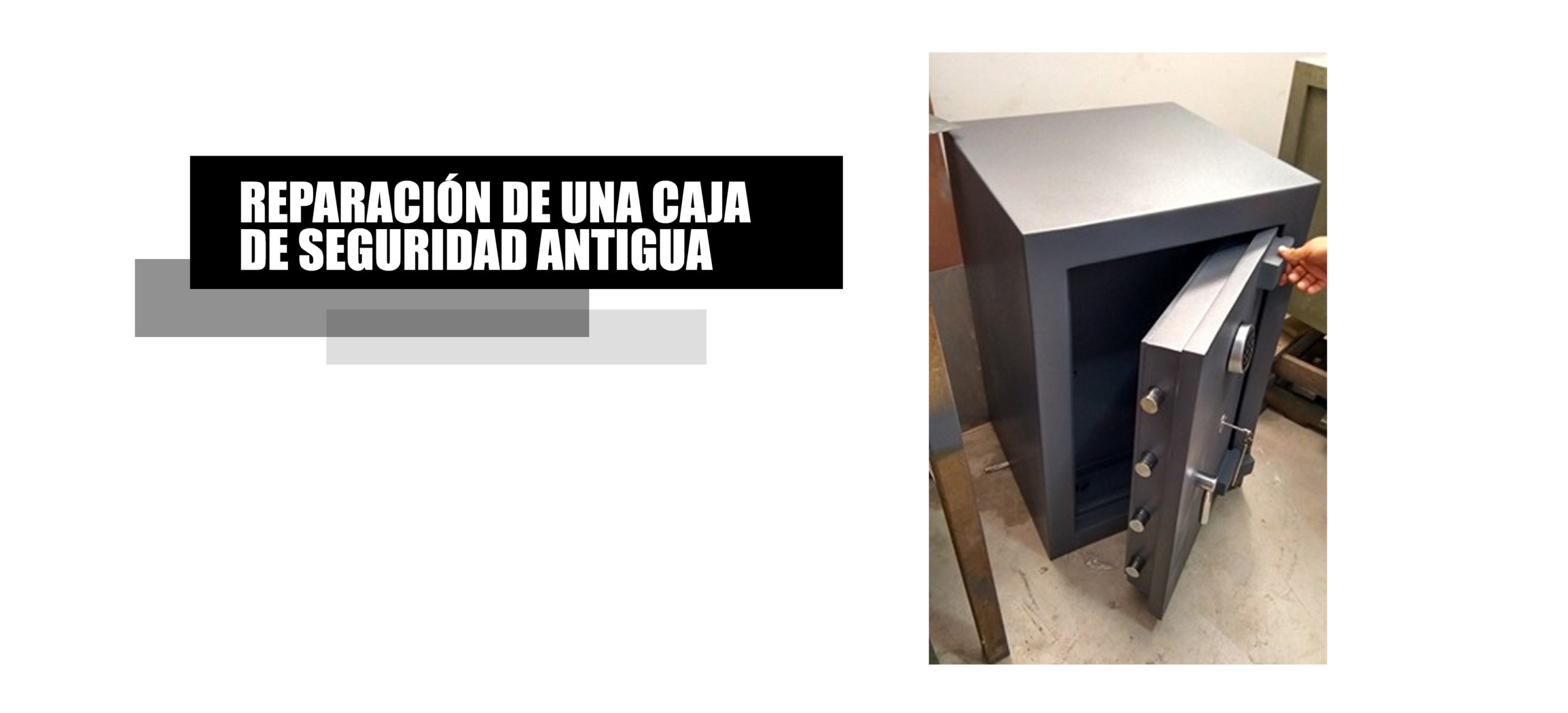 Reparación de cajas fuertes en Lima y provincias de todo el Perú.