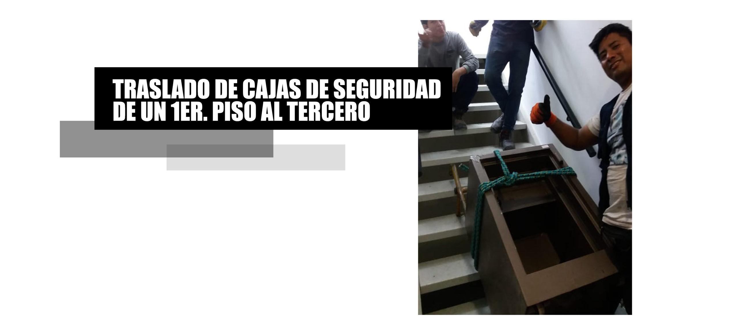 Traslado de cajas de seguridad en Lima y provincias.